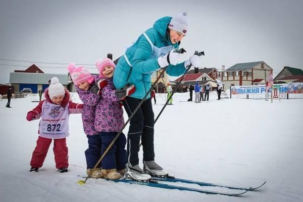 лыжня россии опарино