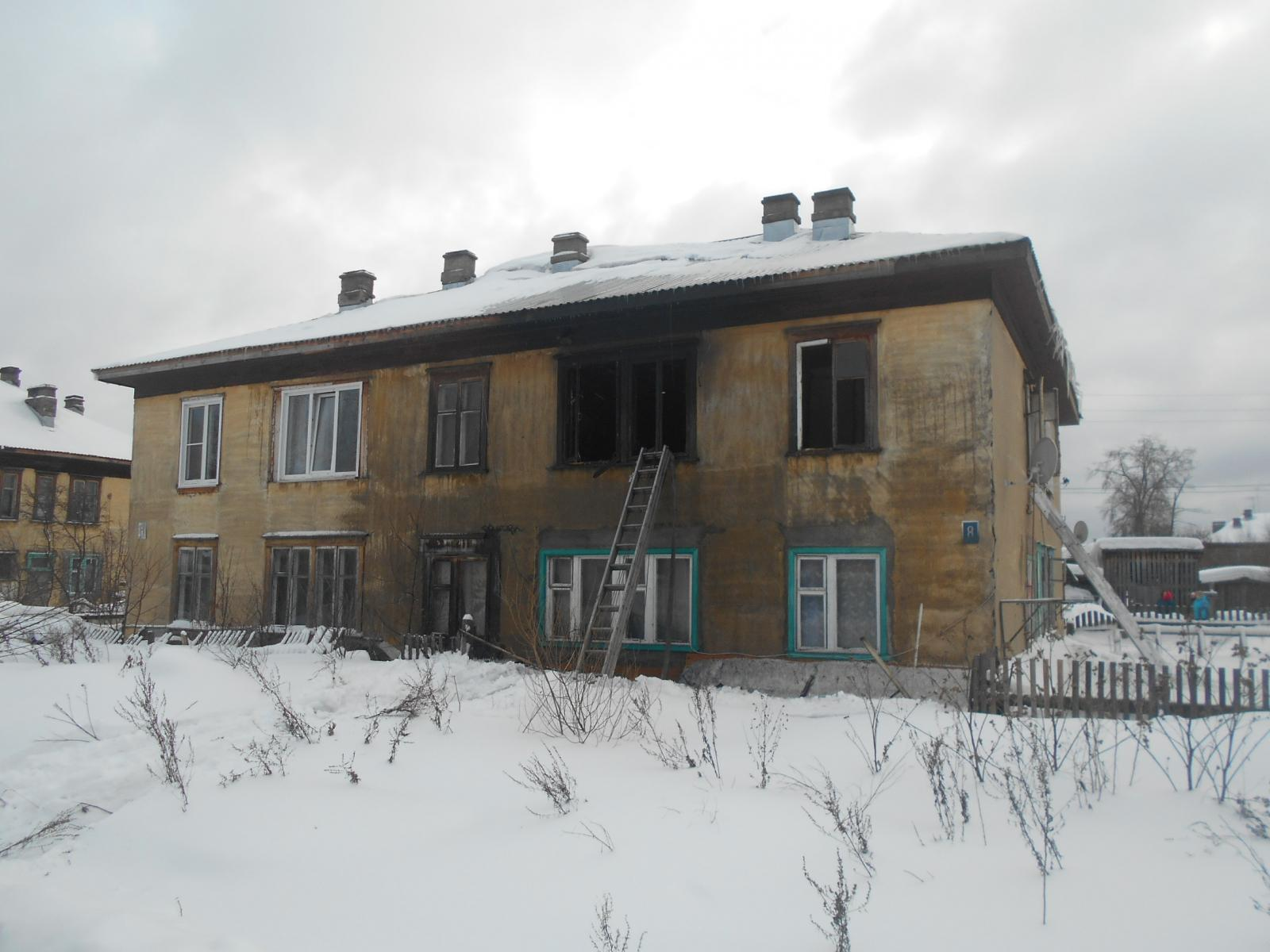 пожар 8-лен=тняя девочка мин