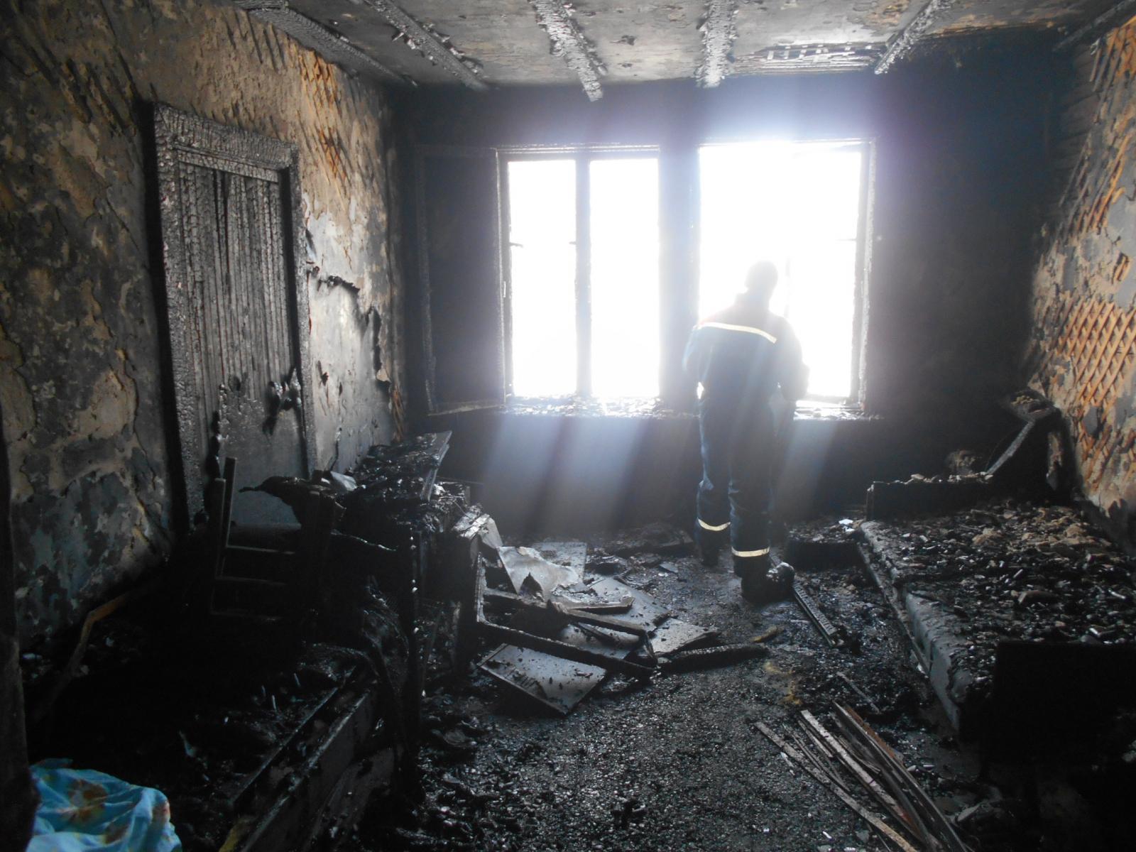 пожар 8-летняя девочка