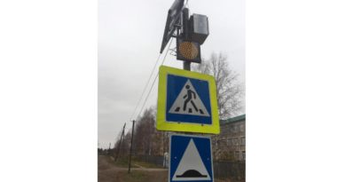 В Лузе муниципалитет через суд обязали установить на пешеходном переходе вблизи школы светофорное оборудование